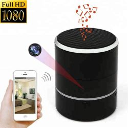 Bluetooth audio hidden spy camera