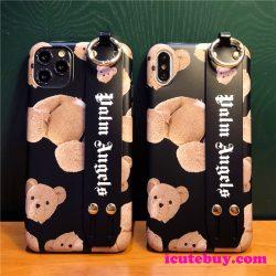 テディベア iPhone11 Proケース パーム エンジェルス iPhone11ケース Palm Angels iPhoneXSケース クマ ...