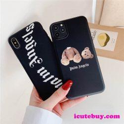 パーム エンジェルス テディベア iPhoneXSケース Palm Angels iPhone11 Proケース Kill The Bear iPhon ...