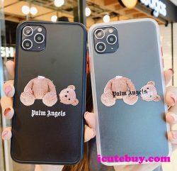 人気おすすめ★Palm Angels iPhone11 Proケース テディベア iPhone11ケース パーム エンジェルス iPhone ...