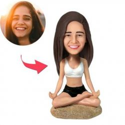 Yoga Girl Custom Bobblehead