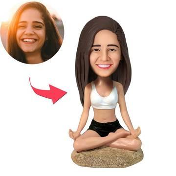 Yoga Girl Custom Bobblehead
