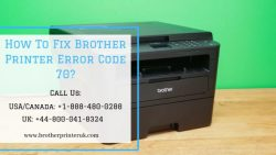 Fixed – How To Fix Brother Printer Error 70 – +1 888-480-0 288