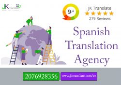 Spanish translation agency
