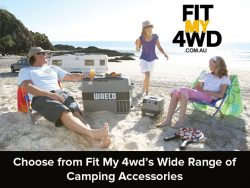 Choose from Fit My 4wd's Wide Range of Camping Accessories