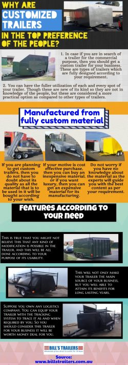 Top factors to consider while buying a custom trailer