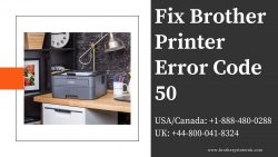 How To Fix Brother Printer Error Code 50 – Brother Printer UK