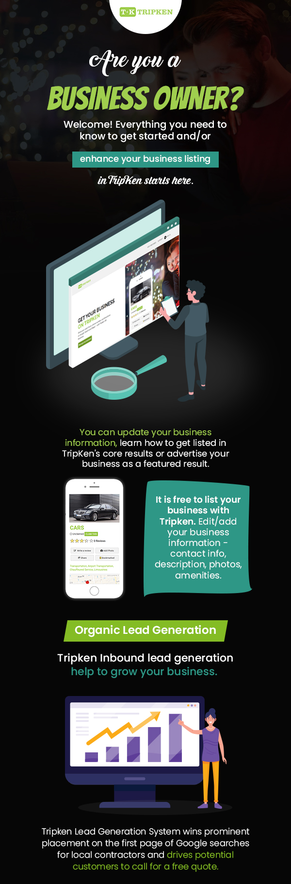 Grow your Business with TripKen's Business Promotion Programs