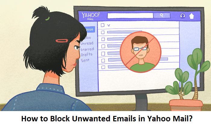 How to Block Unwanted Emails in Yahoo Mail?