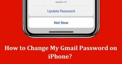 How to Change My Gmail Password on iPhone?