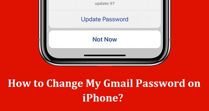 How to Change Gmail Password on My iPhone?