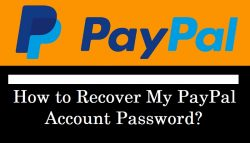 How to Recover My PayPal Account Password?