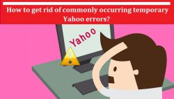 How to get rid of commonly occurring temporary Yahoo errors?