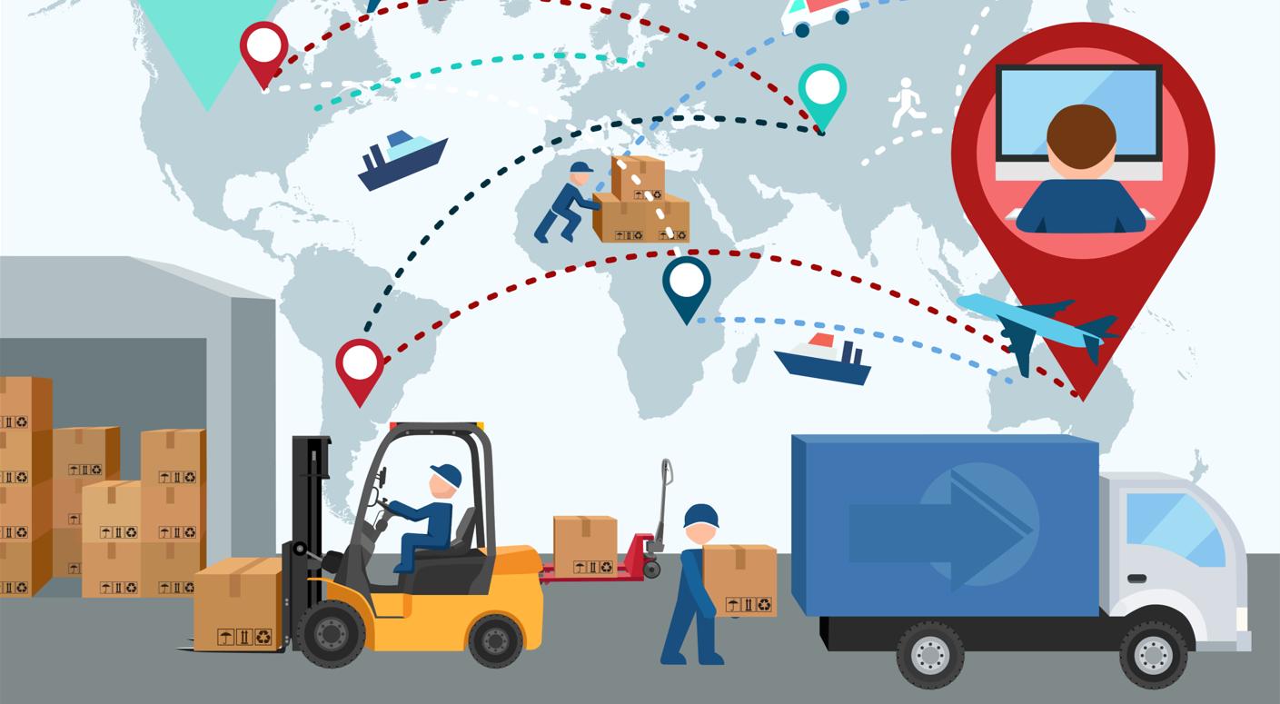 Картинка перемещение товаров