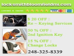 Locksmith Bloomfield MI