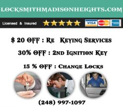 Locksmith Madison Heights MI