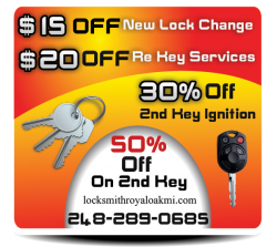 Locksmith Royal Oak MI