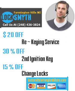 Locksmith Farmington Hills MI