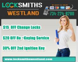 Locksmiths Westland MI
