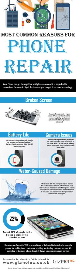 Most Common Reasons For Phone Repair