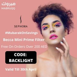 Sephora UAE Promo Codes From Mabruqq