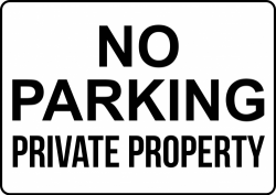 Private Property Signs – Create Signs