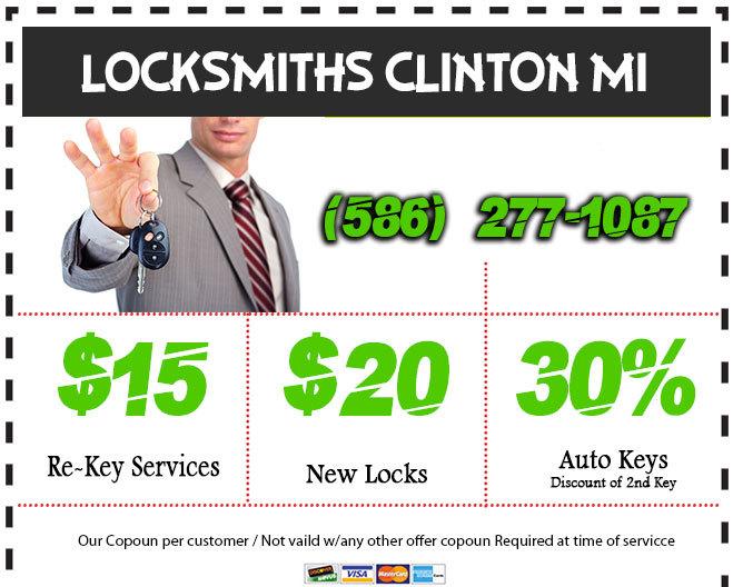 Locksmith Clinton MI