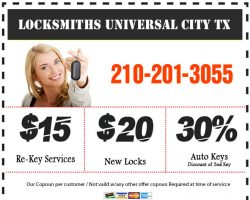 Locksmiths Universal City TX