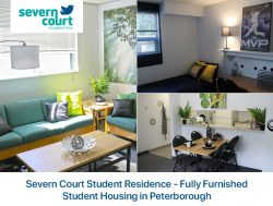 Severn Court Student Residence – Fully-Furnished, Student Housing in Peterborough