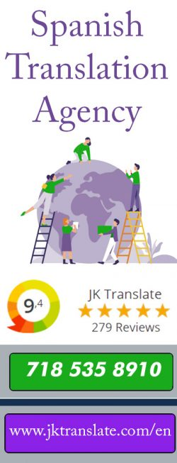 Certified Spanish Translation Agency