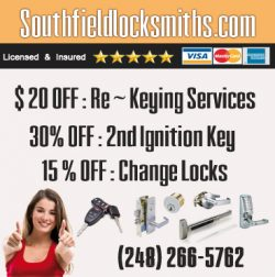 Locksmith South Field MI