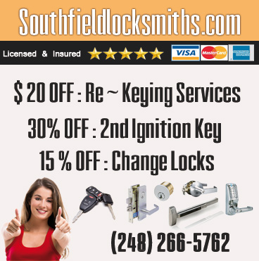 Locksmith South Field MI