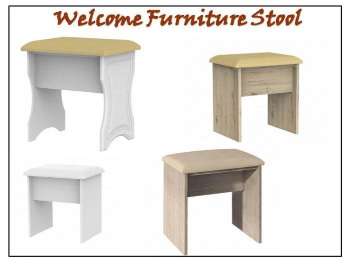 Welcome Furniture Buckingham Dressing Table Stoo