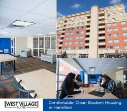 West Village Suites – Comfortable, Clean Student Housing in Hamilton