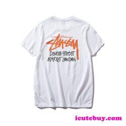 ステューシー Tシャツ Stüssy Dover Street Market London 半袖シャツ stussy tee ティーシャツ カット ...