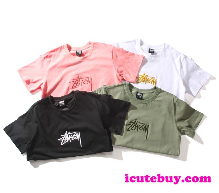 【ステューシー Tシャツ】STUSSY BASIC STUSSY TEE ステューシー 半袖シャツ ベーシック クルーネック  ...