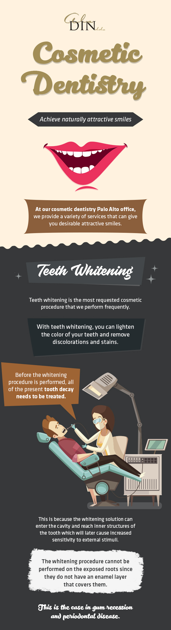 Achieve Naturally Attractive Smiles with Cosmetic Dentistry Services from Ala Din DDS in Palo Al ...