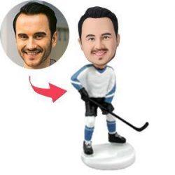 Hockey Player Custom Bobblehead