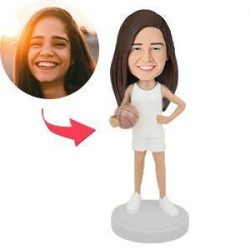 Female Basketball Player Custom Bobblehead