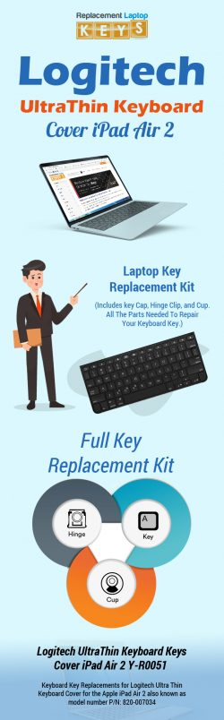Buy Original Logitech UltraThin Keyboard Keys from Replacement Laptop Keys