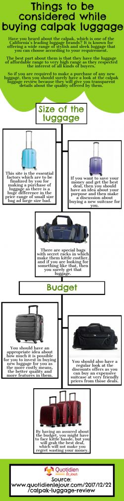 In-Depth Calpak luggage Reviews