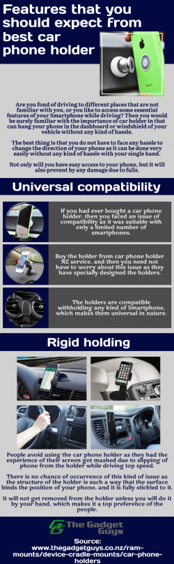 How to hold the mobile and use it while driving