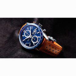 タグホイヤーは、Aquaracerキャリバー7 GMTラインナップに新しい青いダイヤルを加えます