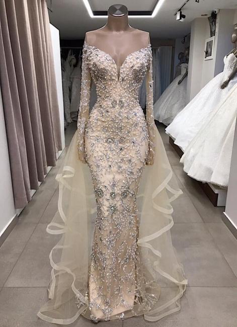 Fashion Abendkleider Mit Ärmel   Abiballkleider Luxus Online