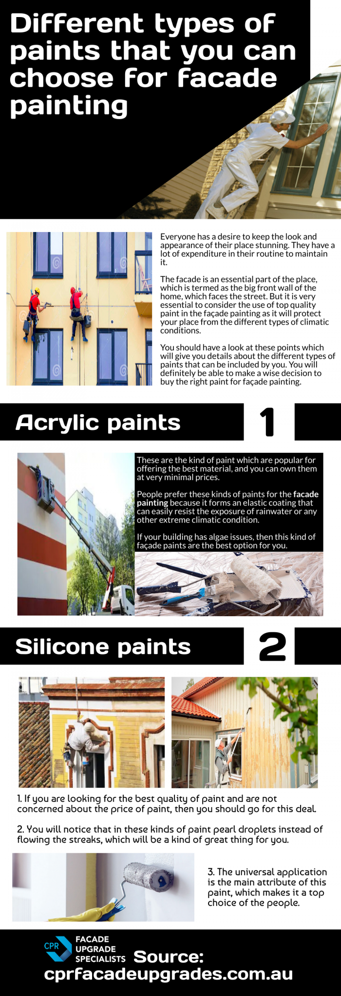 Some of the most outstanding tips for painting building facade