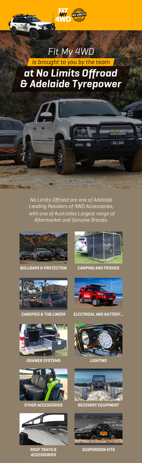 Fit My 4wd – Leading Retailer of 4WD Accessories