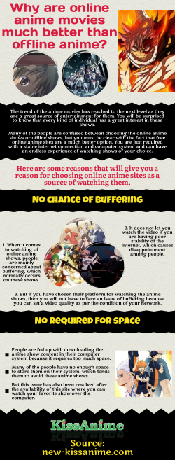 Factors to consider while picking an online anime movie