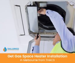 Get Gas Space Heater Installation in Melbourne from THACS