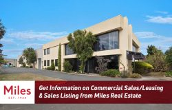 Get Information on Commercial Sales/Leasing & Sales Listing from Miles Real Estate
