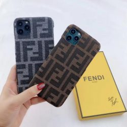 FENDI iphone11ケース レディース フェンディ アイフォン11pro max/SEケース ブランド